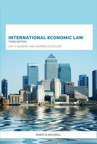 International Economic Law By Asif H. Qureshi