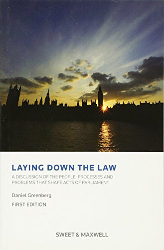 Laying Down the Law By Daniel Greenberg