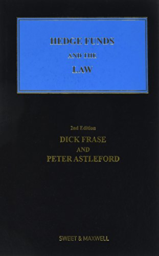 Hedge Funds and the Law by Frase, Dick Book The Cheap Fast Free Post