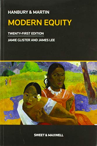 Hanbury & Martin: Modern Equity By Edited by Jamie Glister
