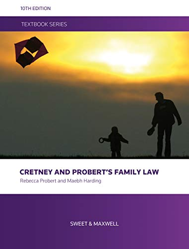 Cretney and Probert's Family Law By Rebecca Probert