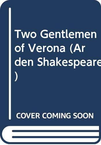 """Two Gentlemen of Verona"" (Arden Shakespeare) By William Shakespeare"