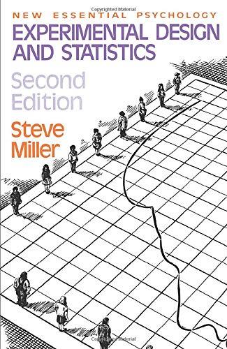 Experimental Design and Statistics by Steve Miller