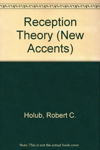 Reception Theory par Robert C. Holub