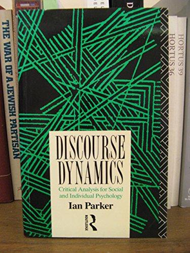 Discourse Dynamics By Ian Parker