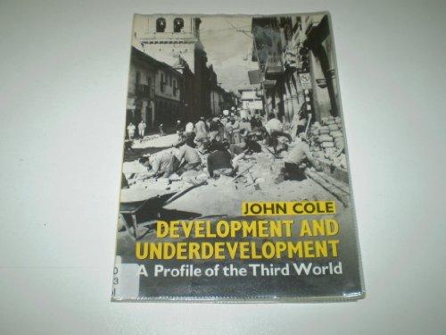 Develop&Underdev:Prof 3rdworld By J.P. Cole