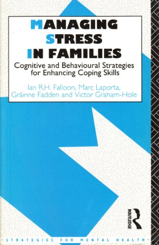 Managing Stress In Families By Victor Graham-Hole