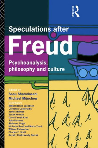 Speculations After Freud By Edited by Michael Munchow