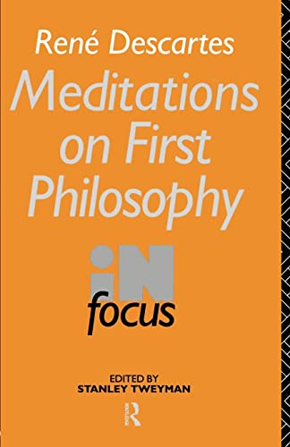 an analysis of meditations on first philosophy
