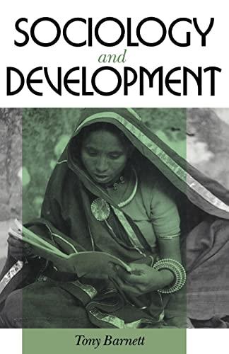 Sociology and Development By Tony Barnett
