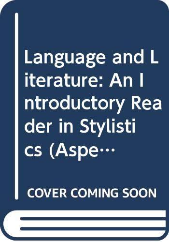 Language and Literature par Ronald Carter