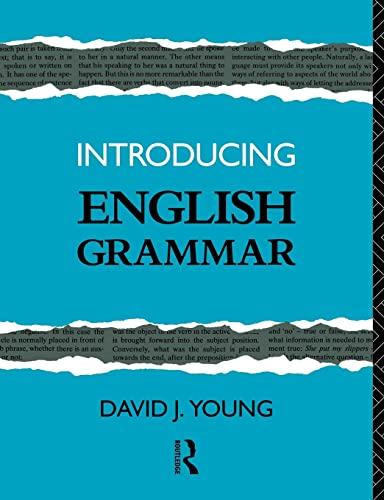 Introducing English Grammar By David J. Young