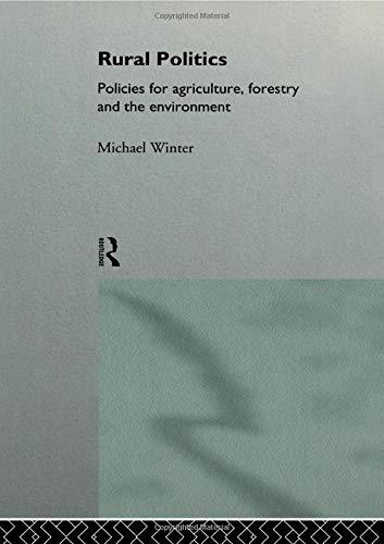 Rural Politics By Michael Winter