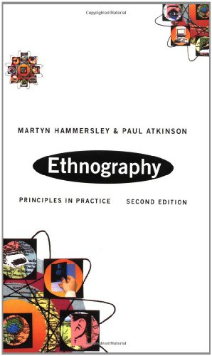 Ethnography: Principles in Practice by Martyn Hammersley