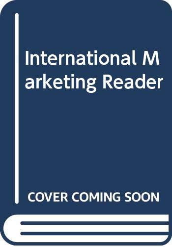 International Marketing Reader Edited by Stanley Paliwoda