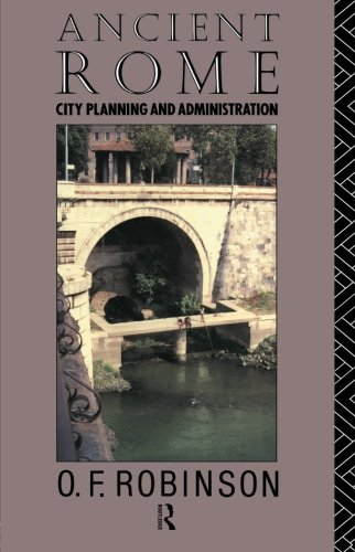 Ancient Rome By O.F. Robinson