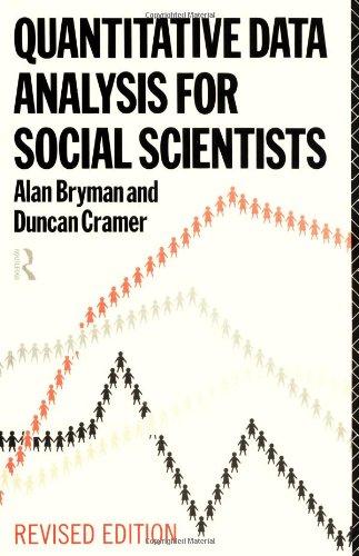 Quantitative Data Analysis for Social Scientists By Prof. Alan Bryman