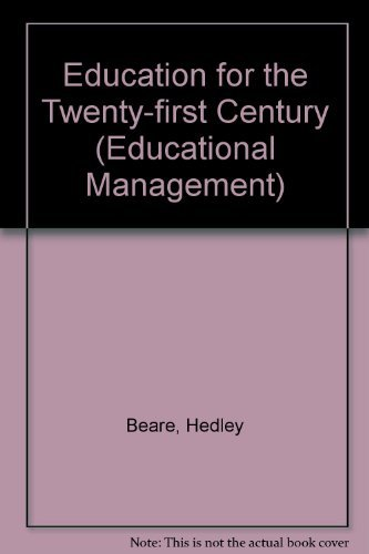 Education Twenty-First Century By Richard A. Slaughter