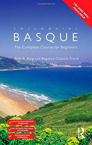 Colloquial Basque By Alan R. King