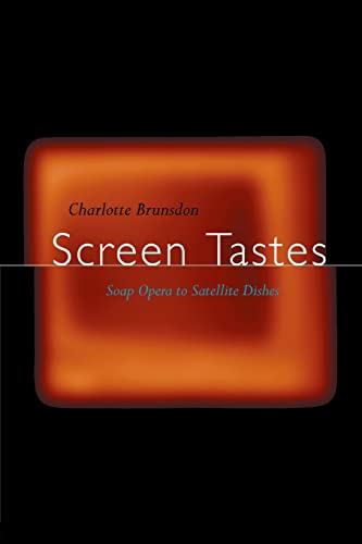 Screen Tastes By Charlotte Brunsdon