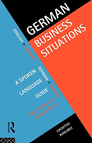 German Business Situations: A Spoken Language G... by Robins, Gertrud 0415128447