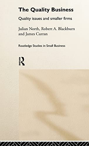 The Quality Business By Robert Blackburn