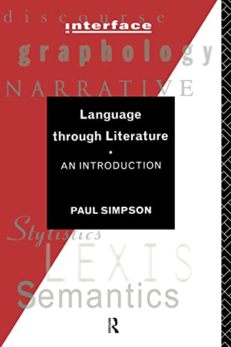Language Through Literature By Paul Simpson