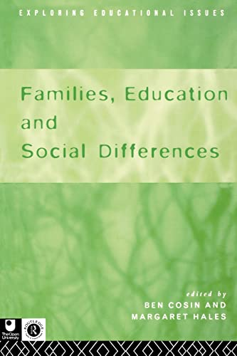 Families, Education and Social Differences By Ben Cosin