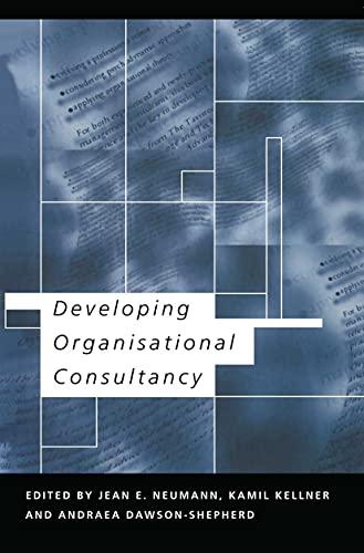 Developing Organisational Consultancy By Andraea Dawson-Shepherd
