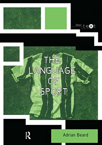 The Language of Sport (Intertext) By Adrian Beard