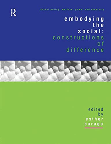 Embodying the Social By Esther Saraga