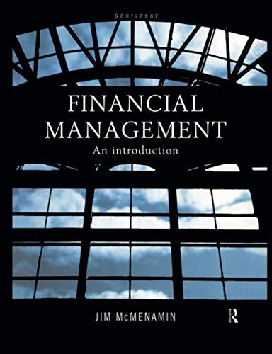 Financial Management By Jim McMenamin