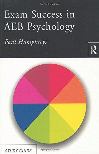 Exam Success in AEB Psychology By Paul Humphreys