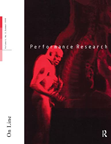 Performance Research By Edited by Ric Allsopp