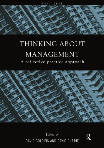 Thinking About Management By Edited by David H. Golding