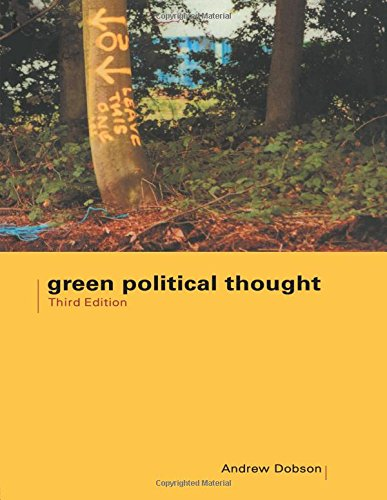 Green Political Thought By Andrew Dobson World Of Books