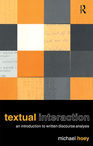 Textual Interaction By Michael Hoey