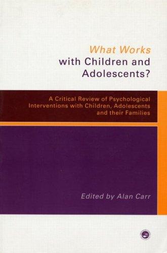 What Works Children & Adolesc