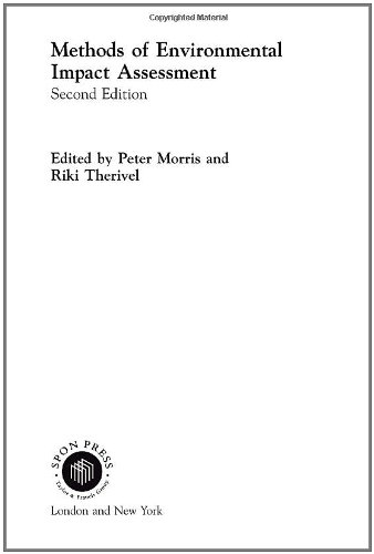 Methods of Environmental Impact Assessment by Peter Morris
