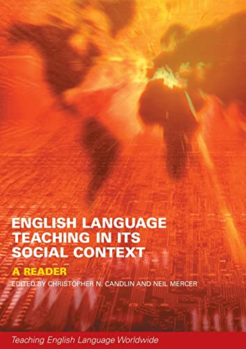 English Language Teaching in Its Social Context By Christopher Candlin