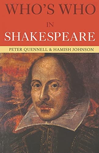 Who's Who in Shakespeare By Hamish Johnson