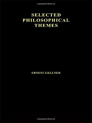 Contemporary Thought and Politics By Ernest Gellner