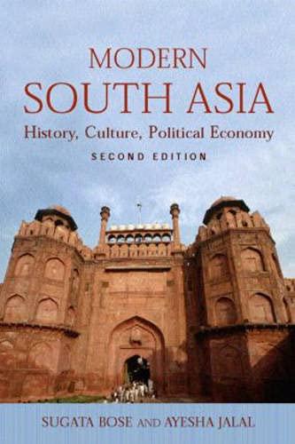 Modern South Asia By Sugata Bose (Harvard University, USA)