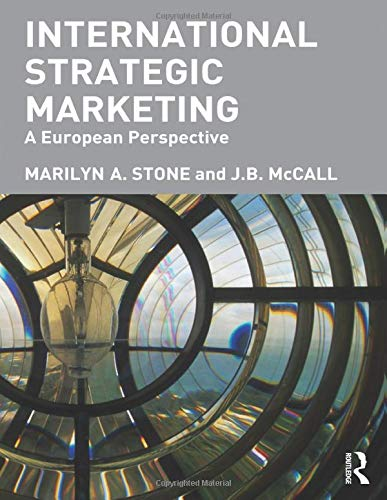 International Strategic Marketing By J.B. McCall