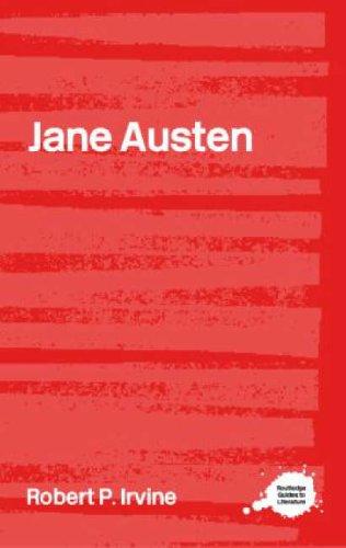Jane Austen By Robert P. Irvine