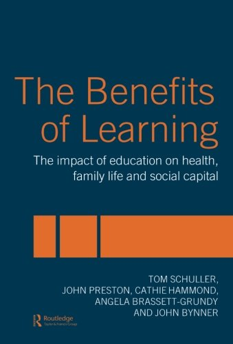The Benefits of Learning By Tom Schuller