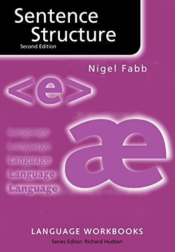 Sentence Structure By Nigel Fabb