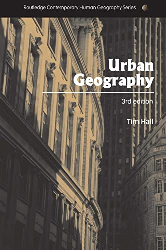 Urban Geography by Tim Hall