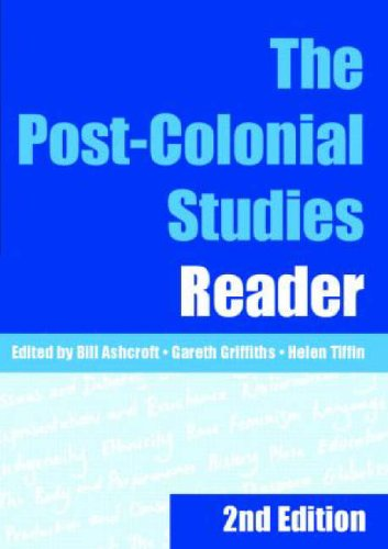 The Post-Colonial Studies Reader By Bill Ashcroft (University of New South Wales, Australia)