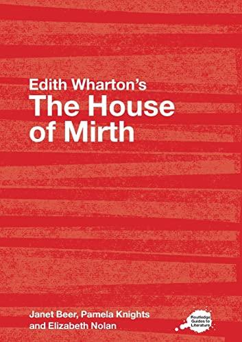 House Of Mirth par Janet Beer (University of Oxford, UK)